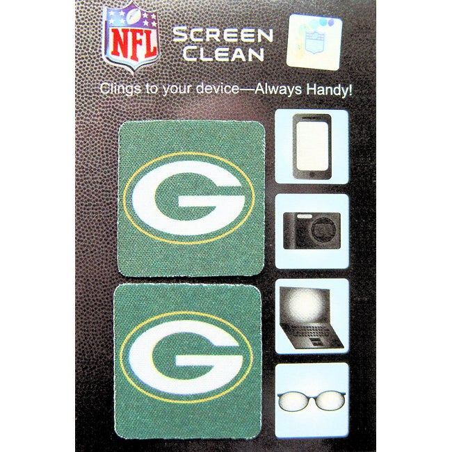 Green Bay Packers Micro-fiber Cling-on Screen/Lens Cleaner