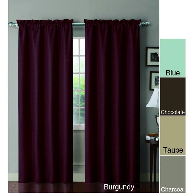 Shanna Blackout Foamback 84 inch Curtain Panel