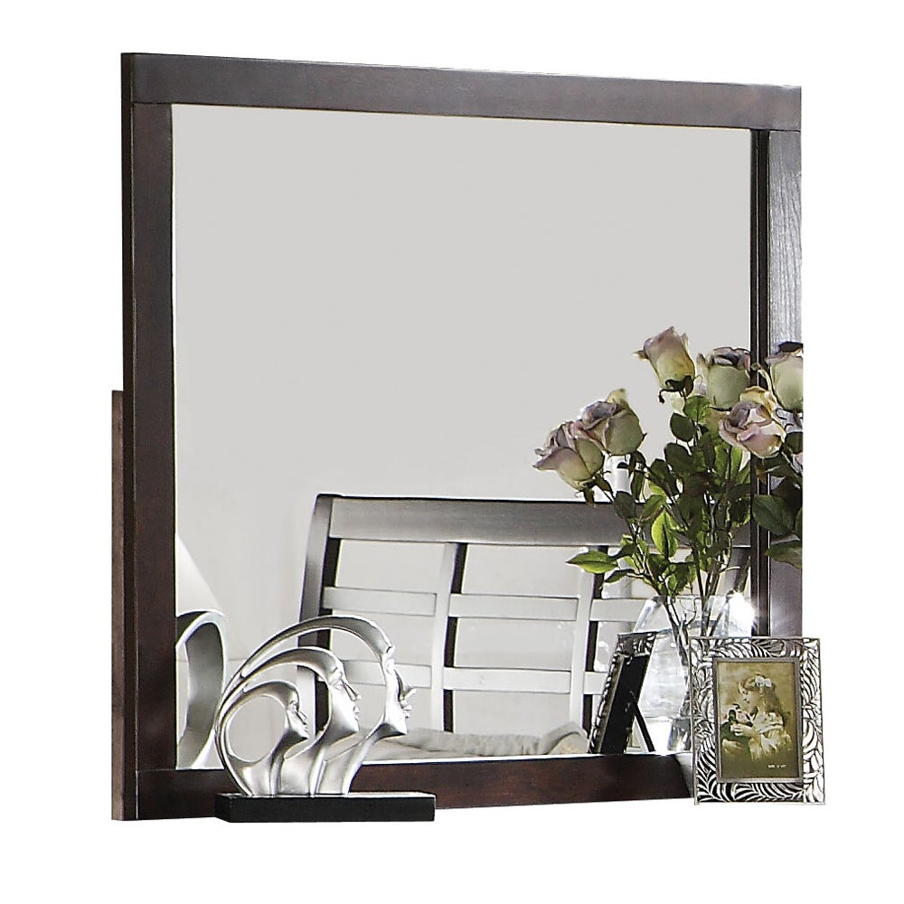 Preston Cappuccino Finish Mirror