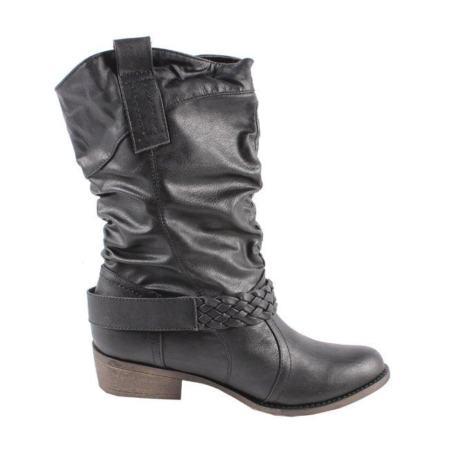 Blossom by Beston Women's 'Tasha-1' Cowboy Boots