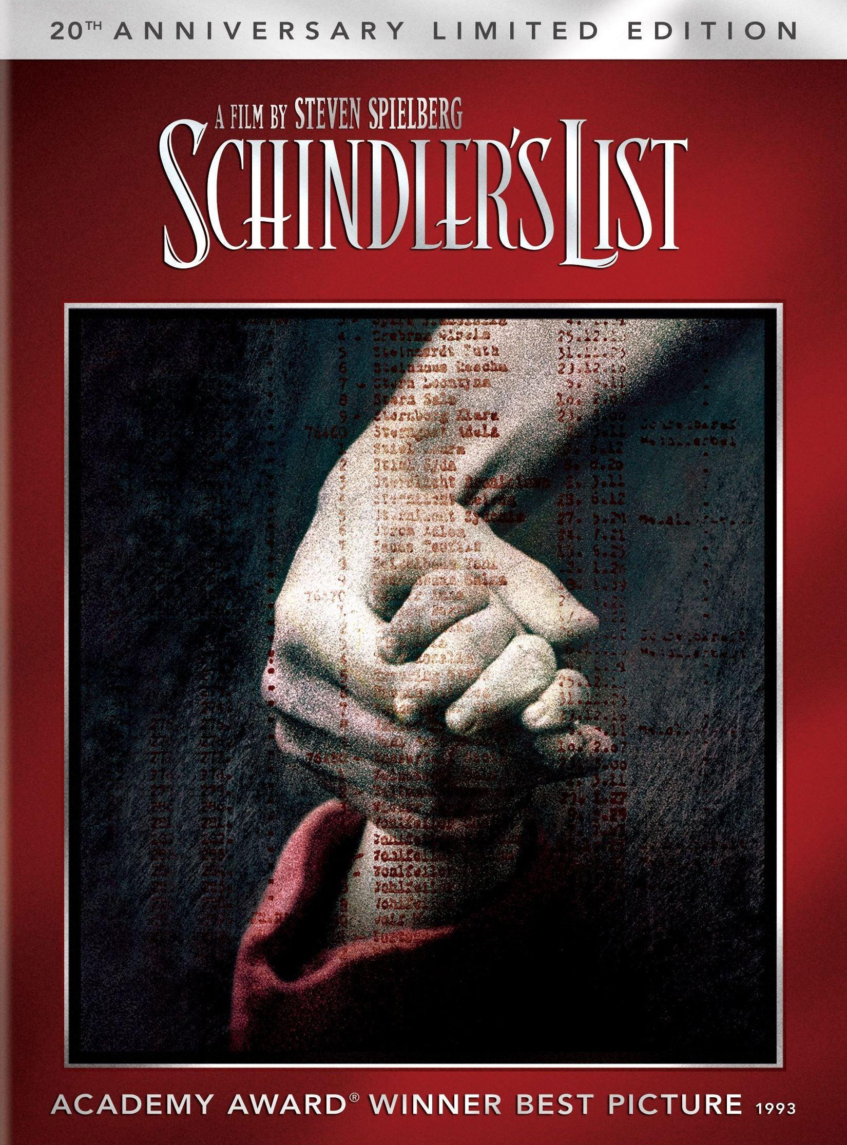 Schindler's List (20th Anniversary Edition) (DVD)