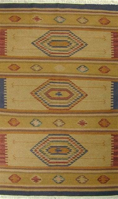 Tahoe Wool Flat Weave Rug (5' x 8')