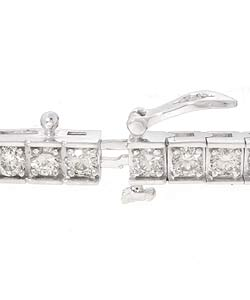 14k Gold 5ct Diamond Tennis Bracelet