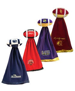 NCAA College Team Logo Snuggleball & Security Blanket