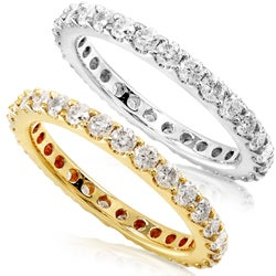 14k Gold 1ct TDW Diamond Eternity Band