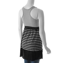 Derek Junior's Accented Striped Tunic