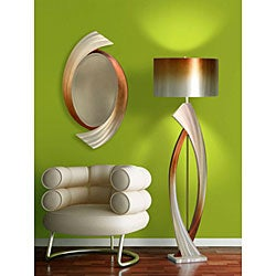 Nova Lighting 'Swerve' Wall Mirror