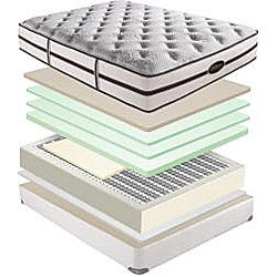 Beautyrest Elite Plato Plush King-size Mattress Set
