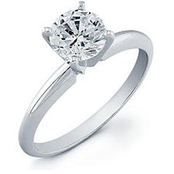 14k Gold 1/2 to 2ct TDW Clarity-enhanced Diamond Engagement Ring (G-H, SI2-SI3)