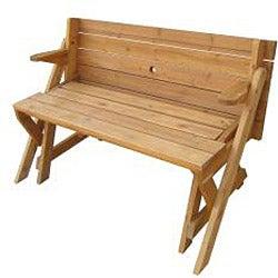 Interchangeable Picnic Table/ Garden Bench