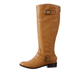Coconuts Women's 'Plaza' Cognac Riding Boots