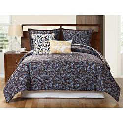 Sahara Reversible 5-piece Duvet Cover Set