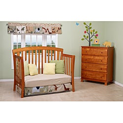 DaVinci Rivington 4-in-1 Crib with Toddler Rail in Oak