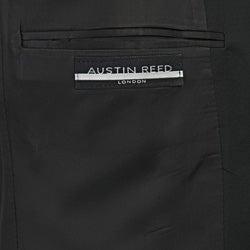 Austin Reed Men's Solid Black Suit