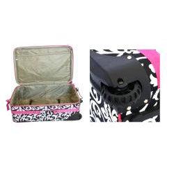 World Traveler 3-piece Damask Expandable Luggage Set
