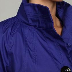 Black Rivet Women's Blue Front Button Jacket FINAL SALE