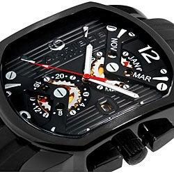 Akribos XXIV Men's Swiss Quartz Multi Function Day Date Watch
