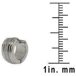 Stainless Steel Mini-Hoop Earrings