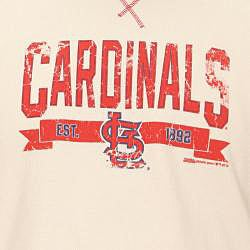 Stitches Men's St. Louis Cardinals Raglan Thermal Shirt
