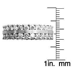 14k White Gold 2 1/4ct TDW Diamond Eternity Band (G-H, SI1-SI2)