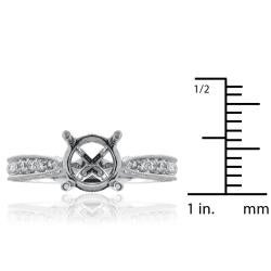 14kt White Gold 1/2ct TDW Diamond Engagement Ring