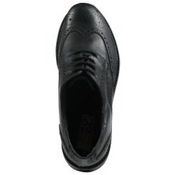 GBX Men's Black Leather Wingtip Oxfords
