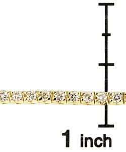 14k Gold 2ct Diamond Tennis Bracelet (K, SI)