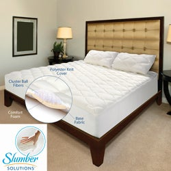 Slumber Solutions Regency 4-layer 2-inch Queen-size Mattress Topper
