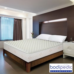 Bodipedic Essentials 3-inch Memory Foam Wave Mattress Topper