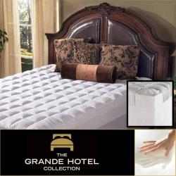 Grande Hotel Collection 4.5-inch Queen/ King/ Cal King-size Memory Foam and Fiber Mattress Topper