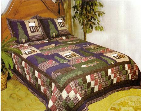 Mountain Trip 3-piece Quilt Set