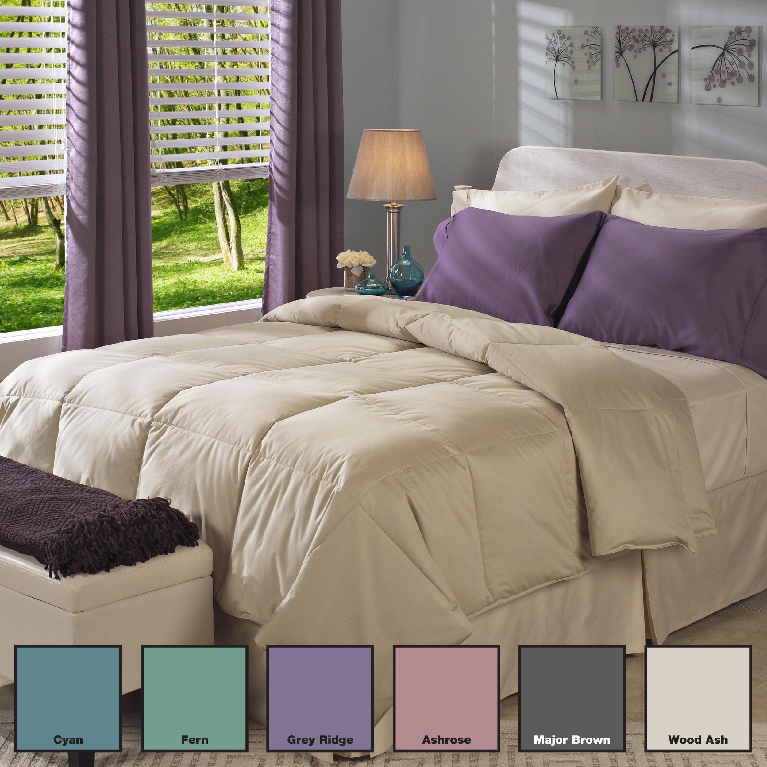 Oversized 500 Thread Count Egyptian Cotton Down Comforter