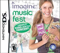 NinDS - Imagine: Music Fest - By Ubisoft