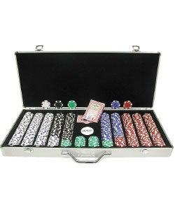 Trademark Poker 650-pc. 11.5g Dice Poker Chip Set