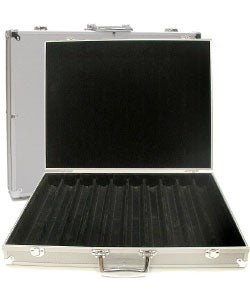 Aluminum Hard Side 1000-pc Poker Chip Capacity Case