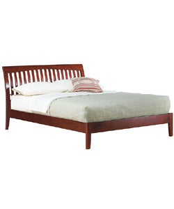 Contemporary Shaker Full-size Platform Bed
