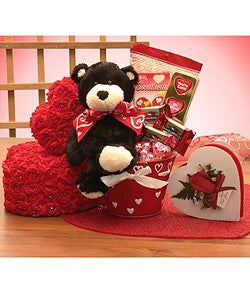 Beary Sweet Valentines Gift Pail
