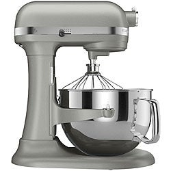 KitchenAid KP26M1XNP Nickel Pearl 6-quart Pro 600 Bowl-Lift Stand Mixer