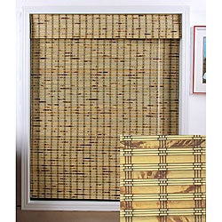 Rustique Bamboo Roman Shade (46 in. x 98 in.)