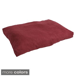 Microsuede Large Washable Pet Bed