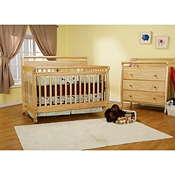 DaVinci Emily 4-in-1 Crib with Toddler Rail in Natural