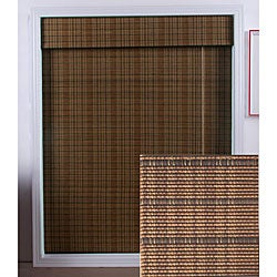 Tibetan Bamboo Roman Shade (38 in. x 74 in.)