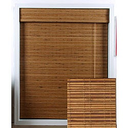 Tuscan Bamboo Roman Shade (19 in. x 74 in.)