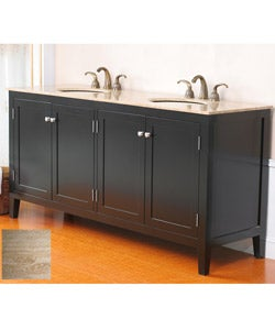 Allante 72-inch Double Sink Bathroom Vanity