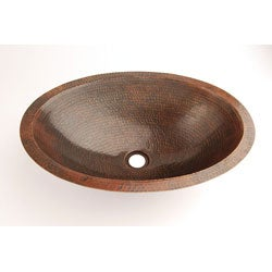 Fontaine Oval Copper Undermount Sink