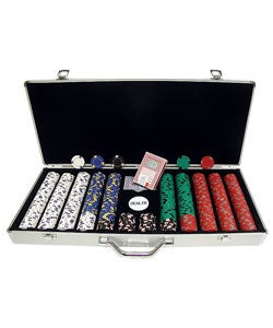 Pro Clay 650-pc. Casino Chips with Aluminum Case