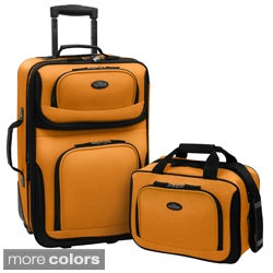 U.S. Traveler US5600 RIO 2-piece Expandable Carry-on Luggage Set