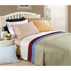 Egyptian Cotton 650 Thread Count Oversized Solid Sheet Set
