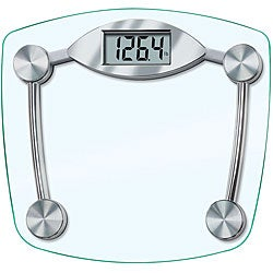 Taylor 7506 Chrome and Glass Lithium Digital Scale