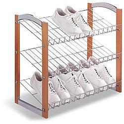 Three-tier Shoe Storage Shelf